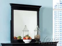 Canterbury Mirror, Black