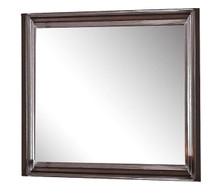 Aceline Mirror, Walnut Finish