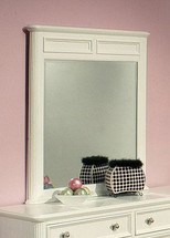 Athena Mirror, White