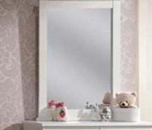 Bungalow Mirror, White
