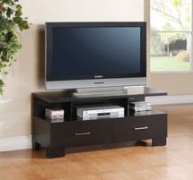 London TV Console, Black Finish
