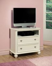 Athena TV Console, White