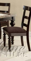 Bandele Side Chair, Espresso Finish, Set of 2