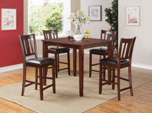 5 Pc. Counter Height Table Set