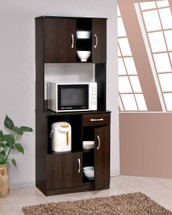 Quintus Kitchen Cabinet Set, Espresso Finish