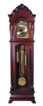 Aaron Grandfather Clock, Cherry Finish