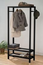 Clothing Rack Black Finish