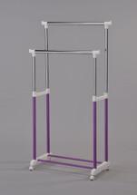 Garment rack Purple