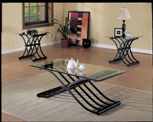 3-Piece Wave Coffee/End Table Set