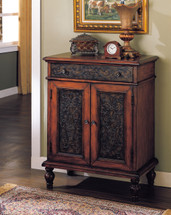 Alameda Console Table, Cherry Finish