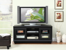 Barra Black Finish Tv Stand / TV Console