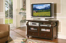 Home Entertainment TV Stand Walnut