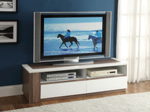 Home Entertainment TV Stand White