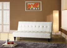 Adjustable Sofa, White Polyurethane Finish