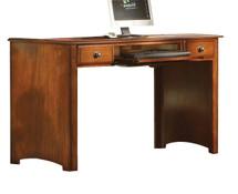 Desk, Oak Finish