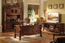 Dresden Office Desk, Cherry Oak Finish
