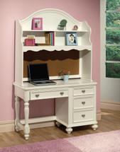 Athena Computer Desk, White