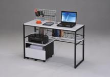 Home Office Computer Desk Black/White