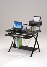 Home Office Computer Desk Black