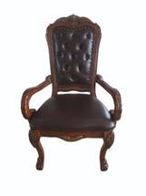 Dresden Office Chair, Cherry Oak Finish