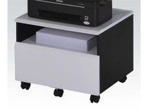 Home Office File Cabinet Black/White