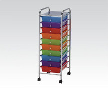 Storage Cart with 8 drawers