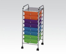 Storage Cart with 10 drawers