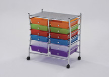Storage Cart with 12 drawers