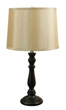Baylee Table Lamp with Gold Shade (Set of 2)