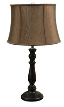 Rustic Bell Shaped Table Lamp (Set of 2)