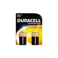DURACELL MN1604B2Z03961 Battery 9 Volt 2 Pack