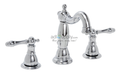 Premier 120341 Charlestown Lavatory Faucet Wide Spread ceramic Disc Chrome