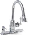 Sonoma Ceramic Disc Pull-Down Kitchen Faucet Chrome