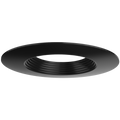 "DL4/BLK 99939 4"" BLACK TRIM - BLACK STEP BAFFLE"