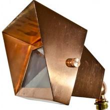 Dabmar LV117 Solid Brass Area Flood Light With Hood