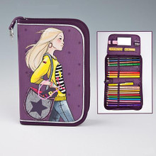 Top Model Filled Pencil Case - Happy Star www,the-village-square.com EAN: 4010070240110