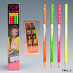 TOPModel Neon Coloured Pencil Set  www.the-village-square.com EAN: 4010070225216