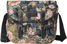 Tapestry Messenger Peony by Signare  www.the-village-square.com EAN:  5060238948623 MPN: MESG-PEO