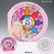 My Style Mandala Colouring Book www.the-village-square.com EAN: 4010070266400