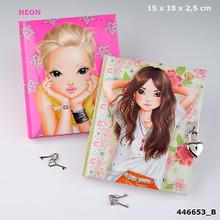 Top Model Secrets Book with Lock - B www.the-village-square.com EAN: 4010070238858