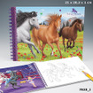 Horses Dreams Colouring Book www.the-village-square.com EAN: 4010070188160