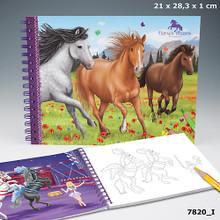 Horses Dreams Colouring Book www.the-village-square.com EAN: 4010070188160