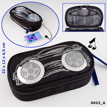Monster Cars Soft Pencil Case With Loud Speakers www.the-village-square.com EAN: 4010070269319