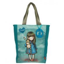 Santoro Gorjuss Shopper Bag - Hush Little Bunny www.the-village-square.com EAN: 5018997610787