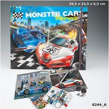 Monster Cars Stickerworld www.the-village-square.com EAN:  4010070275754