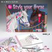 Miss Melody Style Your Horse - Colouring Book www.the-village-square.com EAN:4010070275259