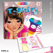 TOPModel Colouring Book - T-Shirt Designer www.the-village-square.com EAN:  4010070293536