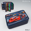 Monster Cars Filled Triple Pencil Case  www.the-village-square.com EAN:   4010070315740