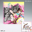 Create your TOPModel Kitty colouring book www.the-village-square.com EAN: 4010070314224