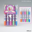 Miss Melody Mini Glitter Gelpen Set, 5 Ink Colours www.the-village-square.com EAN: 4010070314231